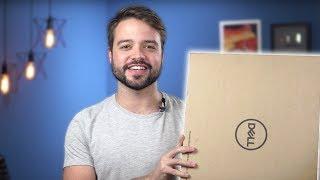 melhor notebook GAMER para Edição?? | Dell Gaming 7567 - Unboxing