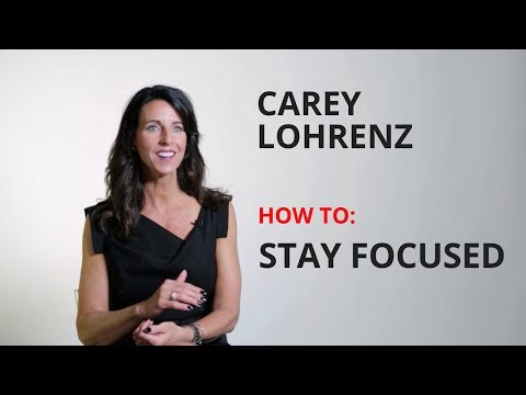 Carey Lohrenz Leadership Keynote Speaker on How to Focus - Inc ...