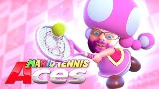 HWSQ #170 - GRONKHODETTE DREHT AUF ● Let's Play Mario Tennis Aces