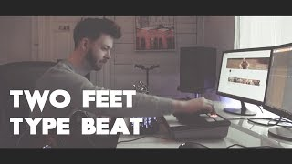 Two Feet type beat (how to make two feet type beat)