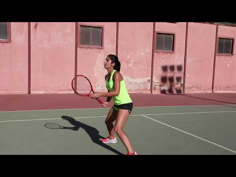 Carmen Nahat US College Tennis Recruitment Video- Fall 2020