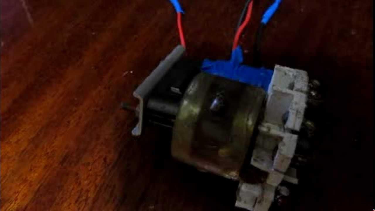 схема трасформатора строчной развертки твс-110пц15