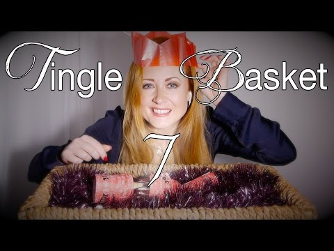Tingle Basket #7 | Crackers for Christmas | Binaural Festive Sounds