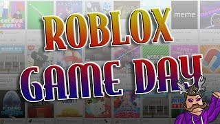 ROBLOX GAMEDAY - St. Jude Family Hospital Charity Stream