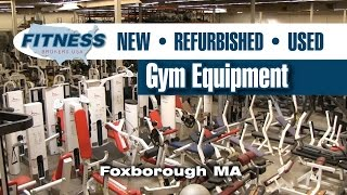 Gym Equipment For Sale: New, Used, and Refurbished