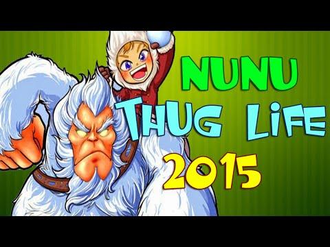 Nunu Thug Life Compilation 2015 (League Of Legends)