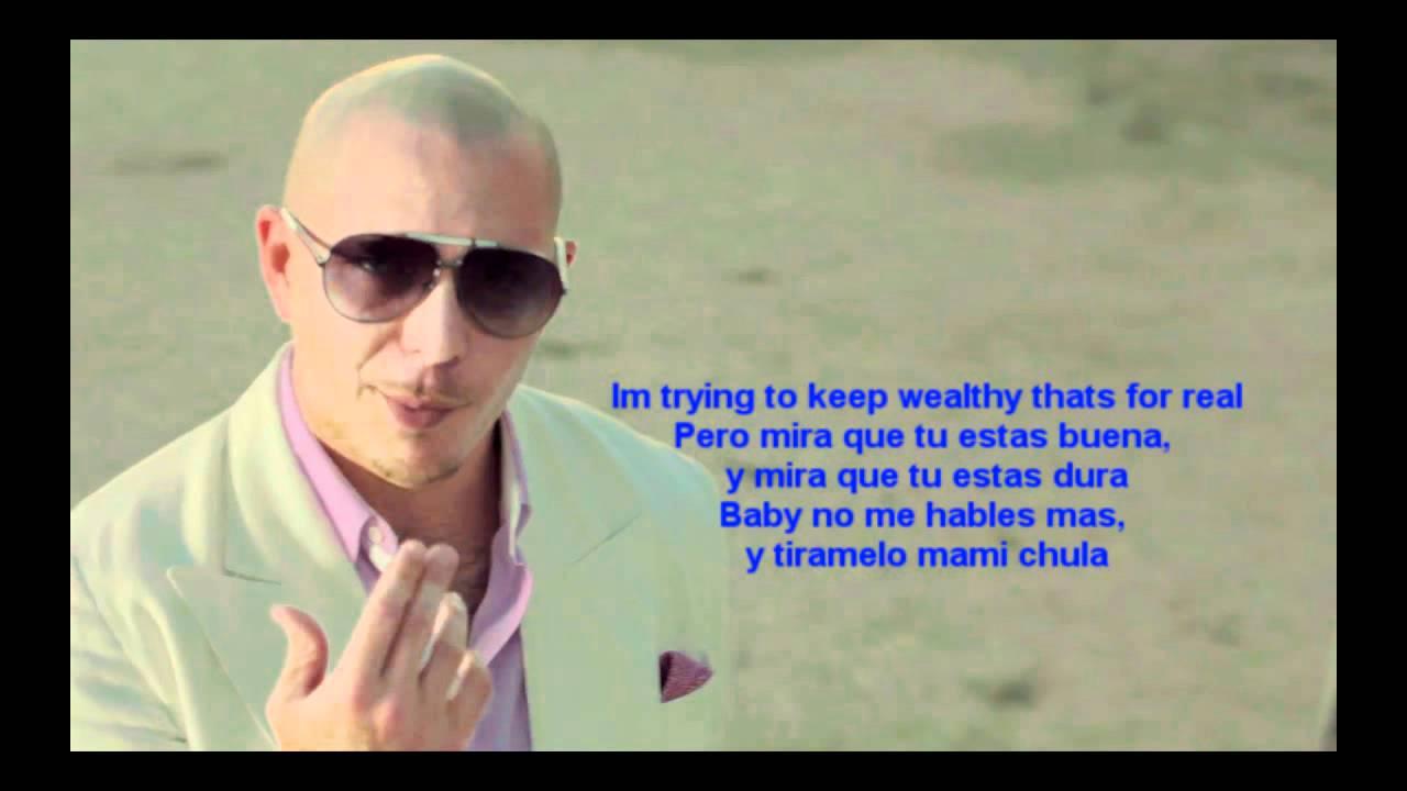 Pitbull ft. Marc Anthony - Rain Over Me Lyrics [HD] - YouTube