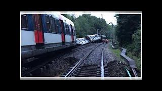 RER B: l'évacuation du train accidenté pourrait prendre plusieurs jours
