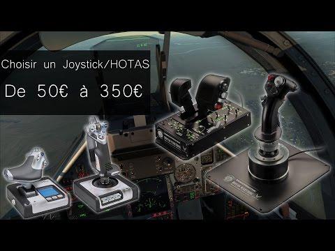 Les meilleurs Joystick/HOTAS de 50€ à 350€ - (FSX, Elite Dangerous, StarCitizen, DCS World...)