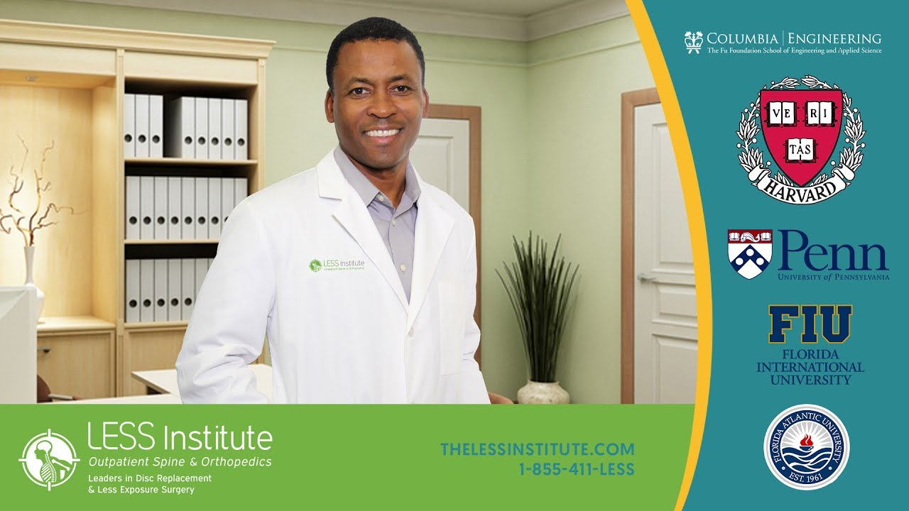 The LESS Institute Academic Outpatient Spine & Orthopedic Center Of  Excellence