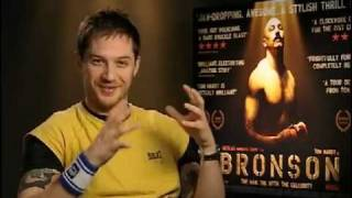 Tom Hardy talks about Bronson