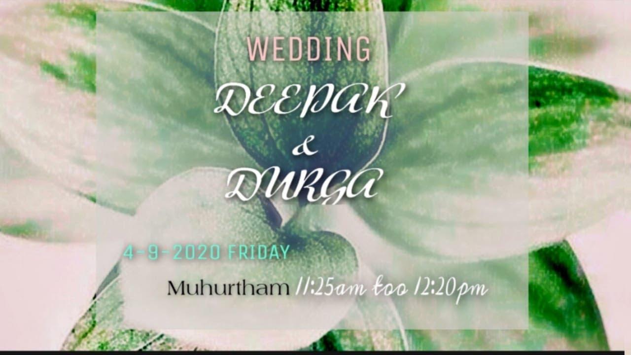 Wedding Deepak & Durga