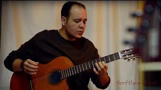 شريف الجسر - جيتار | قصة شتا - Sherif Elgesr Guitar Vocal Cover - Donia Samir Ghanem