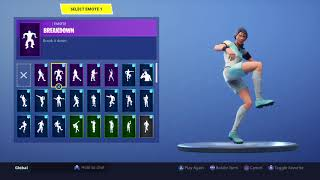 FORTNITE *CLINICAL CROSSER* SKIN SHOWCASE (ALL COUNTRIES, EMOTES, BACK BLINGS)