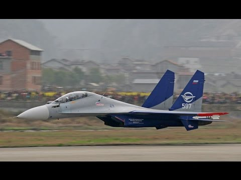 Sukhoi Su 30 Low Flyby