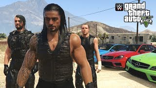 THE SHIELD JOIN SWAT TEAM ELITE | GTA 5 WWE MODS (Roman Reigns, Seth Rollins & Dean Ambrose)