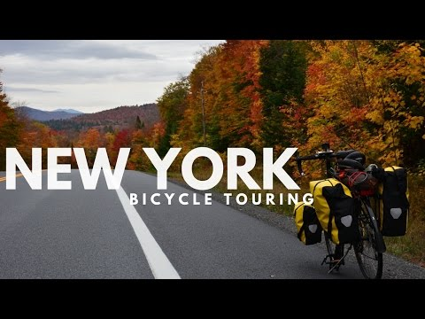 Bicycle Touring: Upstate New York in Autumn