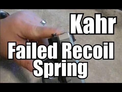 Kahr - Recoil Spring Problem