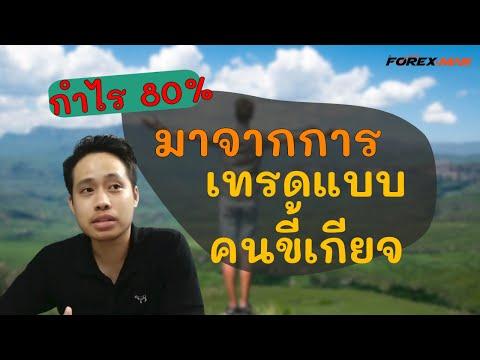 เทรด Forex - กำไร 80% ด้วยการเทรด(ยาว)แบบคนขี้เกียจ