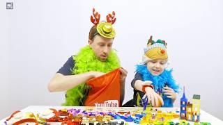 Lego Classic 10698 — как Илья и Картонка готовились встречать с Лего Новый год. Картонка(Встречать с Лего Новый год 2017 неимоверно весело! А все потому, что в далекой Лапландии два оленя Картонкины:..., 2016-12-17T05:50:00.000Z)