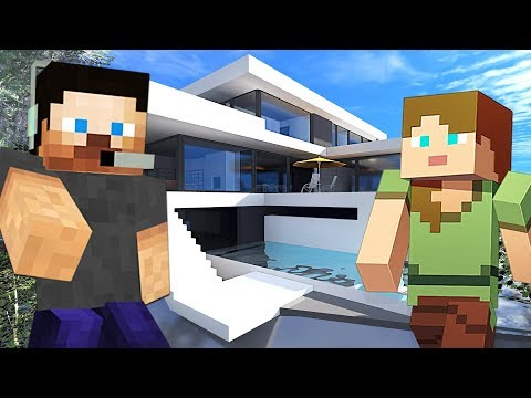 UPGRADING OUR HOUSE!! MINECRAFT w/ MY GIRLFRIEND!! (Minecraft #11)