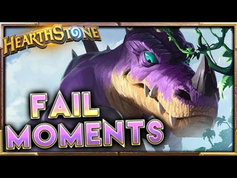 Hearthstone FAIL Moments Ep.35 | Gadgetzan Hearthstone