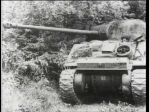 PANZER - Sherman Firefly vs Panther Tank: - YouTube