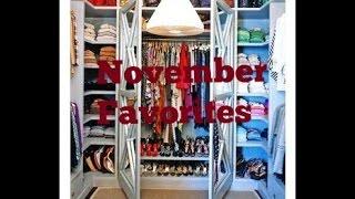 November Favorites 2014!! Thrifted Clothes, Makeup & More Thumbnail