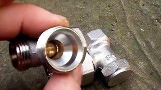 видео Какие краны лучше ставить на радиаторы отопления