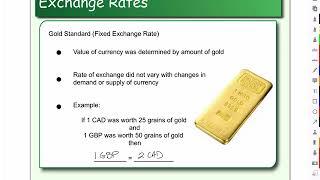 History of Exchange Rates