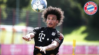 Leroy Sané: First Training at FC Bayern