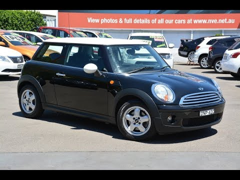 Mini Cooper Automatic 2009 model only travelled 61,000 kms for sale @ Newcastle Vehicle Exchange