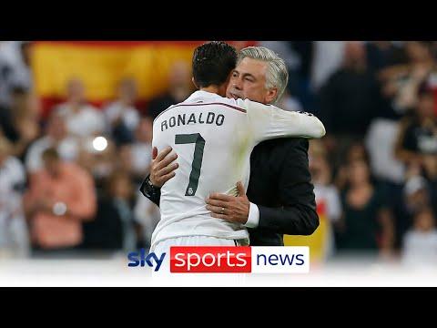 Carlo Ancelotti denies Real Madrid's interest in Cristiano Ronaldo