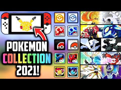 Multiple Pokemon Games Coming To Switch With 25th Anniversary Collection In 2021?! [Rumor]