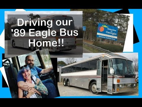driving our 89 silver eagle bus home converting a bus yourself rh youtube com Philadelphia Eagles Bus Eagle Bus 1970