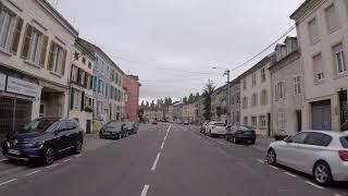 France Baccarat City center, / France Pays du Lunévillois Baccarat Centre ville, Gopro