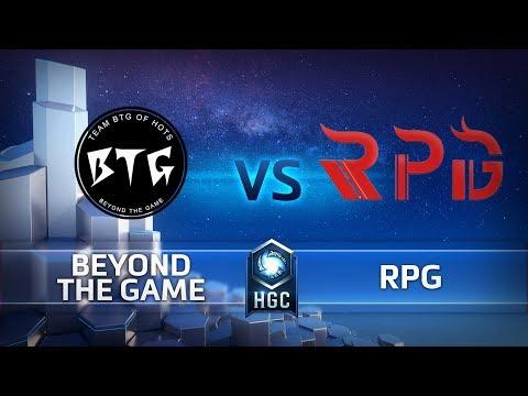 HGC CN - Phase 2 Week 9 - RPG vs BTG - Game 1