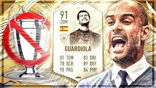 FIFA 20 : GUARDIOLA PRIME ICON MOMENTS Squad Builder Battle 😱🔥