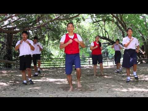สื่อการสอนแอโรบิคมวยไทย ของกรมพลศึกษา