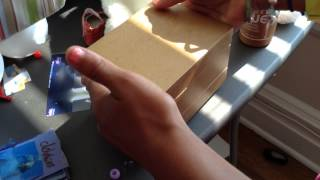 How To Make An American Girl Doll Bedside Table