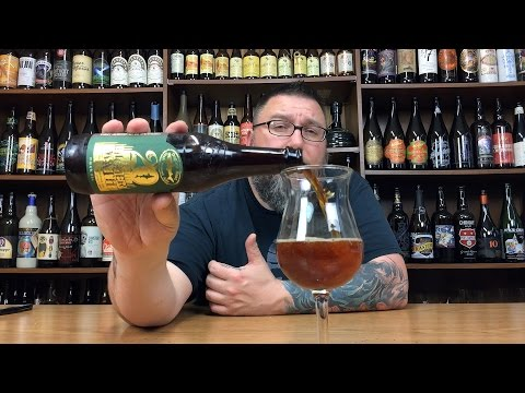 Massive Beer Reviews # 426 Dogfish Head 20'th Higher Math American Stong Ale W/ Cherries & Chocolate