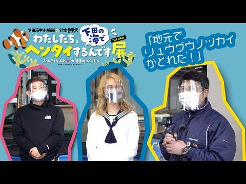 下田海中水族館 ヘンタイ展特別企画 「地元でリュウグウノツカイがとれた!」Vol.1