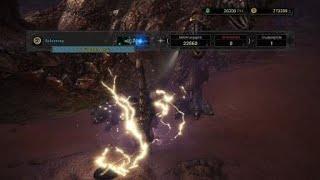 Monster Hunter World  Tempered Diablos Solo [Lance] 3'54