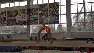 3 взрослый разряд по спортивной гимнастике. Солдатова Ксения