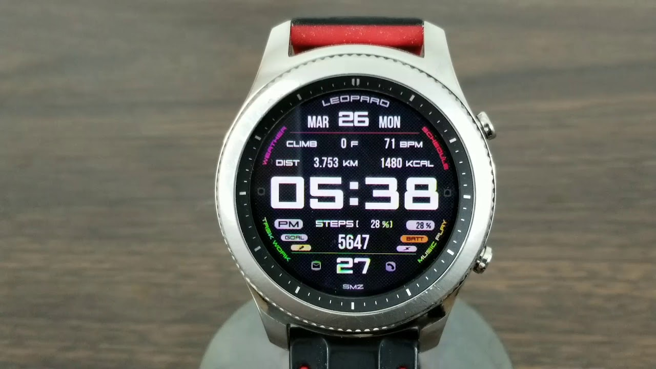 5cf5b9f3825 Gear S3 Watch Face Free Limited Time Offer - YouTube