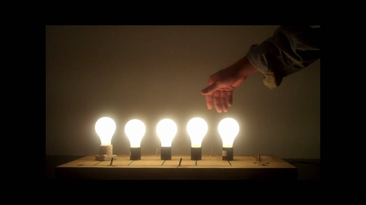 5f20 50 Parallel Light Bulbs Youtube