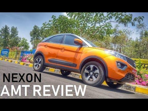 Tata Nexon Diesel / Petrol AMT First Drive Review
