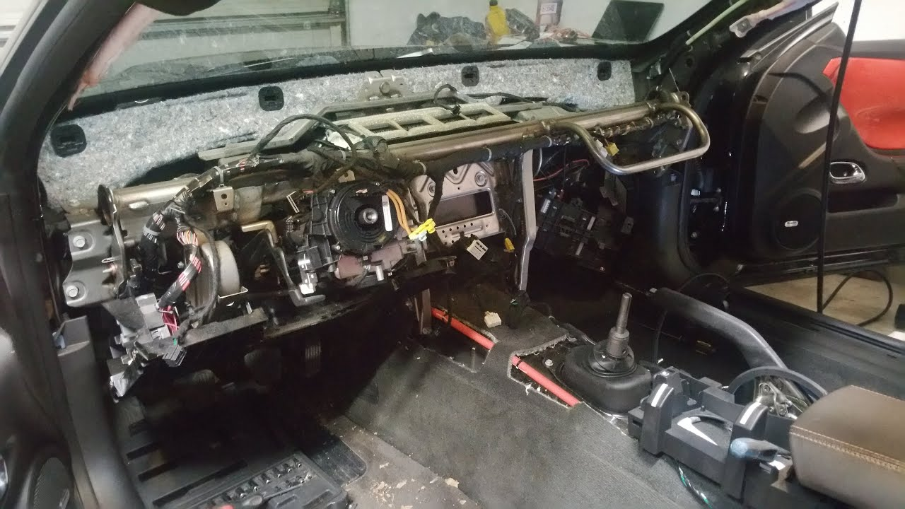 How to: 2010 Camaro Heater core install sorta  YouTube
