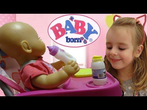 Кукла Беби Бон интерактивная мальчик Baby Born 819203 Обзор