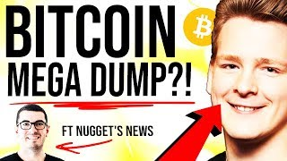 Bitcoin MEGA DUMP!! ???? $7000 NEXT?!! Sell-Off Reasons Explained ft Nugget's News
